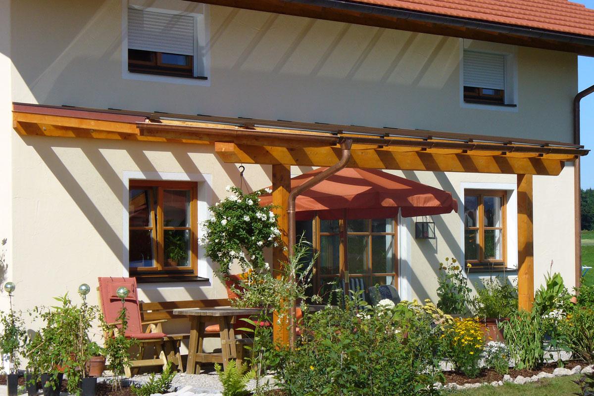 Lammers Terrassenüberdachung